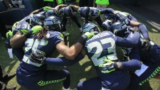 Seahawk Huddle
